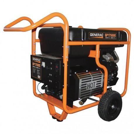 Generac GP17500 Portable Generator — 26,250 Surge Watts, 17,500 Rated