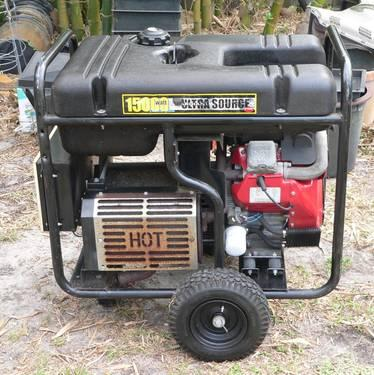 Generac Guardian Ultra Source Portable Generator 15,000