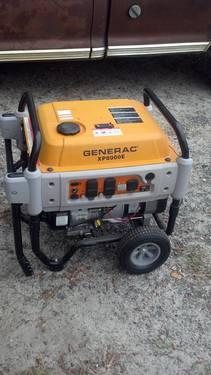 Generac XP8000E Portable Generator