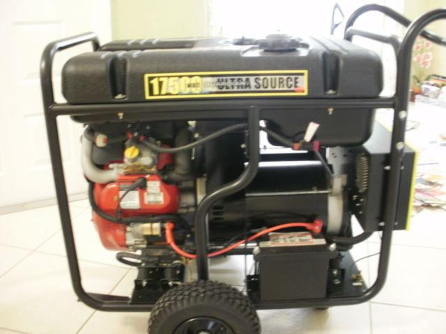 Generator for house with transfer switch and complete ready to use