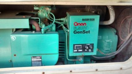 Generator Quot Onan 6 5 Nh Genset Quot For Sale In Santa Barbara