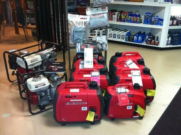 Generators - Pumps - Leaf-Blowers - Lp - Gas - Electrical