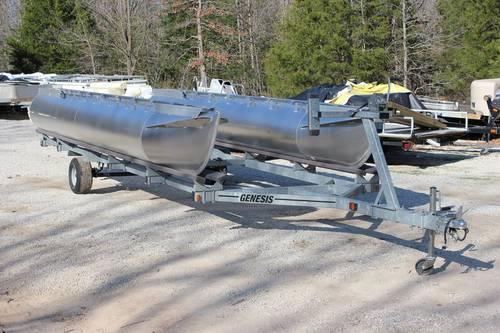 GENESIS GALVANIZED 24 FOOT PONTOON BOAT TRAILER