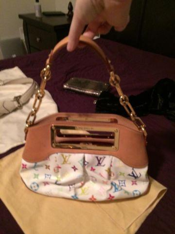 Gently used designer purses Louis Vuitton, Coach, Fossil- authentic