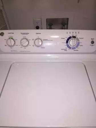 Gently Used GE Washer and Dryer