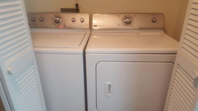 Gently Used Maytag Centennial Washer Amp Dryer With Service