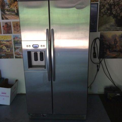 Incroyable Gently Used Stainless Steel KitchenAid Side By Side