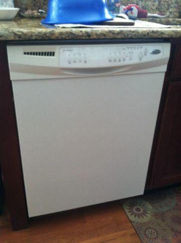 Gently Used White Whirlpool Dishwasher For Sale In Fishers