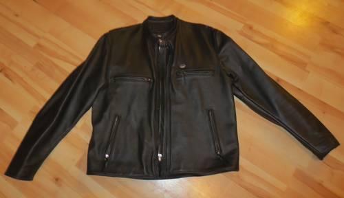 Genuine Leather HARLEY DAVIDSON biker jacket