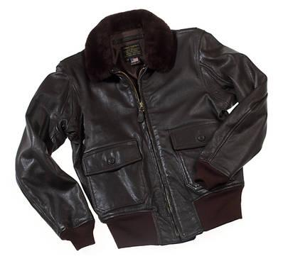 Navy leather flight jacket regulations
