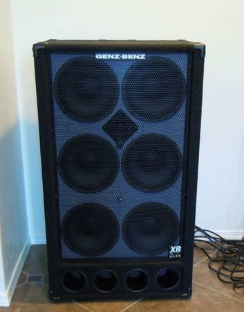 Genz Benz 610 Bass Guitar Speaker Cabinet Like New - $600