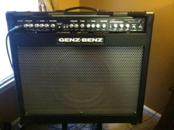 Genz-Benz El Diablo Combo Amp - $800