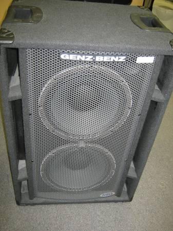 Genz Benz Neox-212t Speaker Cabinet 1011622 - $599