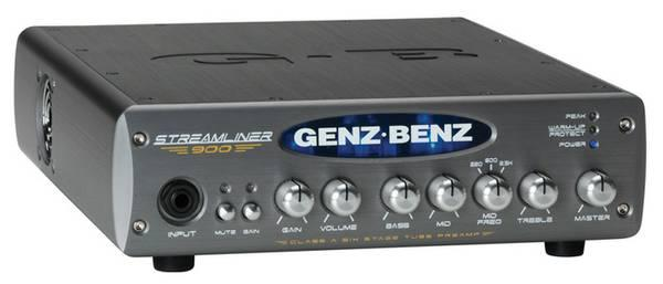 Genz Benz STM-900 Streamliner Bass Amplifier 900 Watt NEW in box - $600