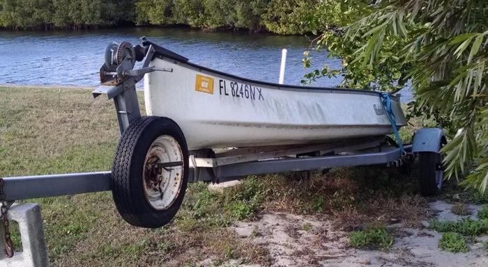 Gheenoe Boat with Trailer