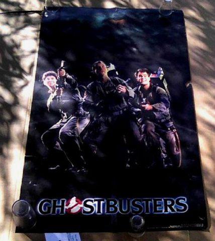 Ghostbusters 1984 Orig Movie Poster Bill Murrayaykroydramis