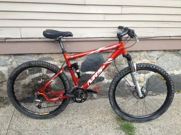 GIANT NRS-2 full suspension mountain bike with upgrades