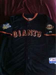Giants, lincecum jersey L, XL - $55 (Visalia/tulare)