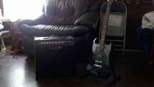 Gibson Epiphone & Line 6 spider 2 amp - $200 (chickamauga)