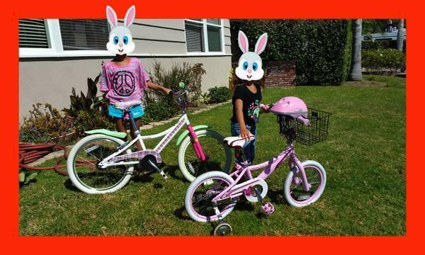 GIRL BICYCLE COME W/ WARRANTEE **MINT/LIKE NEW