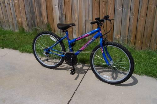 Girl S 24 RoadMaster Mt Fury MTB 15 Speed Bicycle