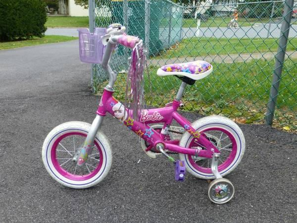 Girls Barbie Bike - $25