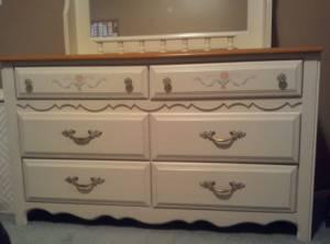 Girls Broyhill Dresser Mirror Chest Of Drawers New