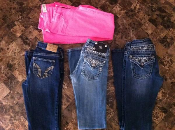 Girls miss me/hollister jeans for Sale in Wylie, Texas ...