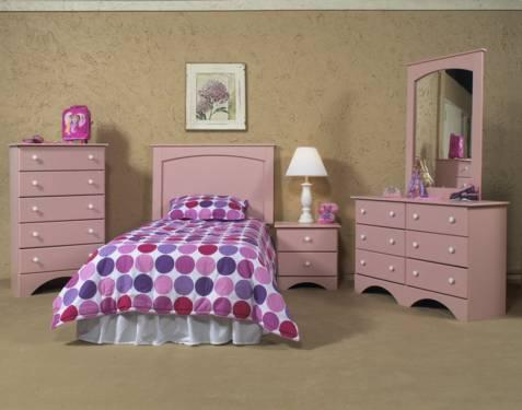 Girls Pink 5Pc Bedroom Set New Twin Or Full Queen Available For Sale In Ga