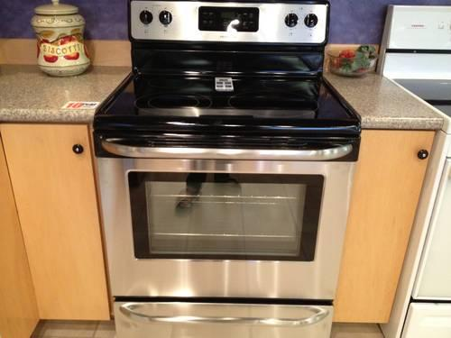 Glass Top Electric Stove ~ Glass top electric stove ranges for sale in bremerton