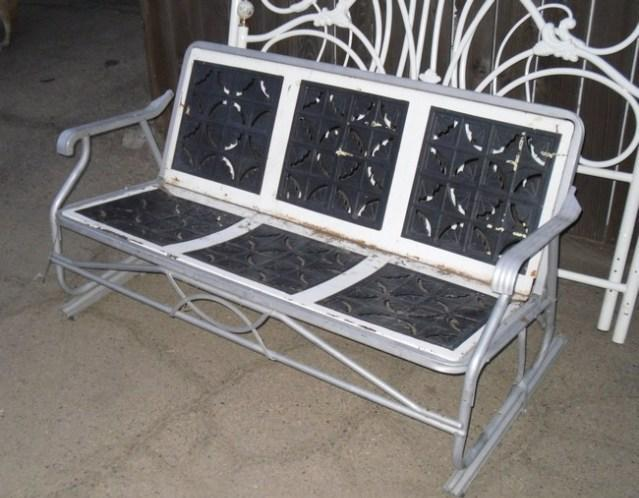 Glider Antique Porch Yard Swing Rocking Chair For 2