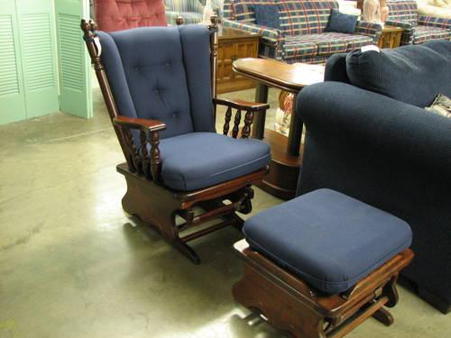 Glider Rocker And Ottoman For Sale In Fort Wayne Indiana