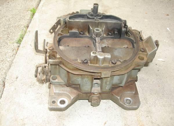 GM Rochester Quadrajet Carb Carburetor Chevy 350 4 Barrel V8 Engine