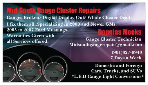 GM Speedometer Gauge and Digital Display Repairs for Sale in