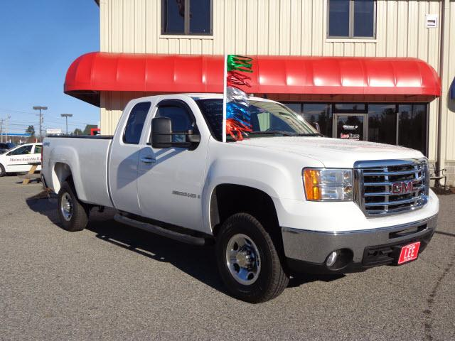 gmc sierra 2500hd work truck 4dr extended cab 4wd lb 2007. Black Bedroom Furniture Sets. Home Design Ideas