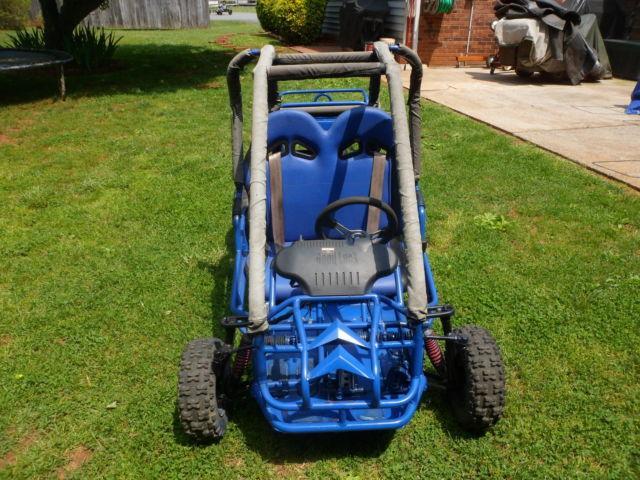 Go Kart 110cc Run Master II Blue