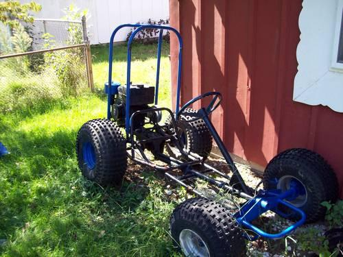 Go kart, snowblower, Gas grills