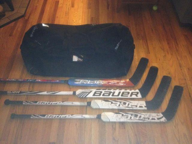 Goalie Bag Stick Set