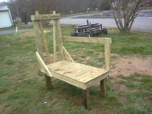 goat milking and hoof trimmimg stand - $100 (dayton)