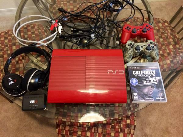 God of War Edition PS3 System 500GB - $200