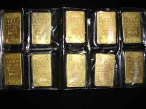 Gold Bar Collection 1oz Each Chattanooga For Sale In