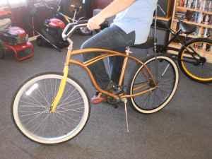 Gold custom cruiser with banana seat - (Charleston) for ...