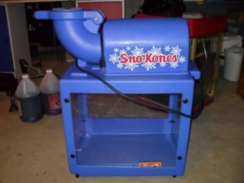 sno king sno cone machine
