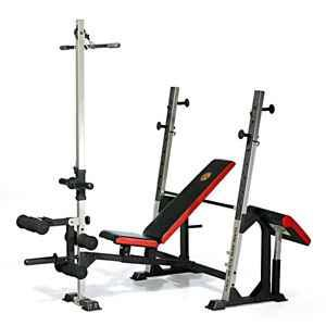 Gold's Gym XR5 Weight Bench and 140lbs - $225