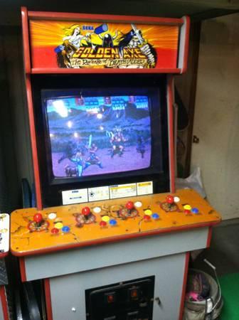 Golden Axe 4 player arcade - $275