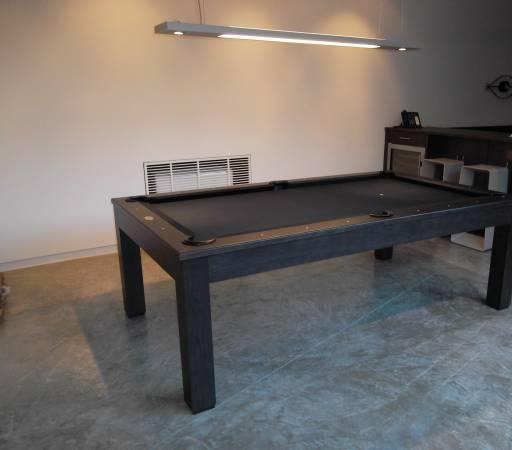 GoldenWest Teak WOOD Modern Pool Table Billiards X Was - Fullerton pool table