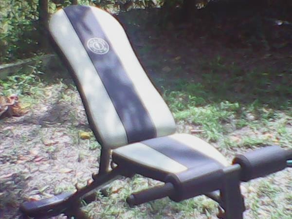 Golds Gym Workout bench - $75