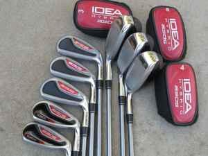 Golf Adams Idea A3 Os Hybrid Combo Iron Set 3 Pw