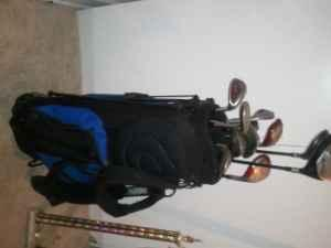 Golf bag and clubs - $150 (Portsmouth)