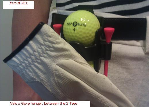 Golf Ball Glove Tee Holder Clips On Belt Golf Bag For Sale In